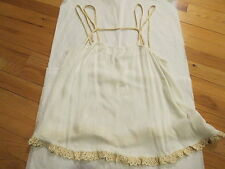 Free People Intimately Summer Straps Camisole Large Ivory $48 Authentic New NWT
