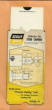 SCULLY JONES STUB TAPERS SELECTOR VINTAGE   ADVERTISING