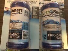 2 Pack Earth Smart Refrigerator Filter F-2 Replaces Frigidaire WF1CB WFCB NEW