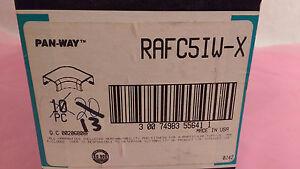 Box of 13 Panduit Panway RAFC5IW-X Fittings