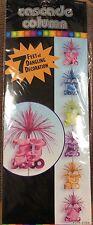 70s Disco 7' Cascade Column Party Supplies Decorations