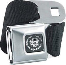 Official CADILLAC Logo Seatbelt Style Belt and Buckle by BuckleDown GM Licensed