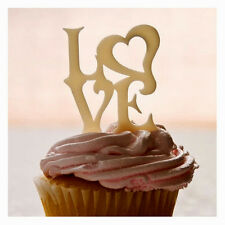 Sugarcraft Molds Polymer Clay Molds Cake Decorating /LOVE cupcake topper mold