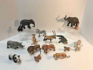Schleich Animal Toy Figures You Choose: Zoo Jungle Farm Forest Pets SHIPS FREE