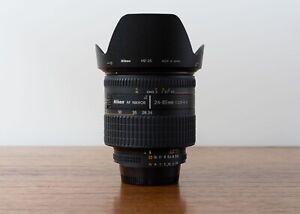 Nikon Nikkor AF 24-85mm f/2.8-4D IF  Macro Ultra Wide Angle Lens