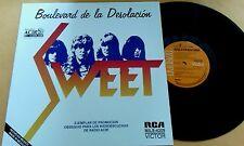 Sweet -Boulevard Desolation LP promo mexico Unique cover RCA