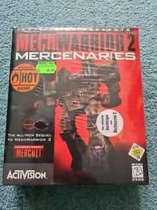 Mechwarrior 2 Mercenaries CD Eurobox Windows PC Big Box TOP *TEIL OVP *