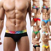 Mens Soft Breathable Underwear Boxer Briefs Shorts Bulge Pouch Underpants