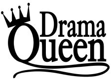 A5 FUNNY IRON ON TRANSFER SAYING DESIGN A5 FUNNY T SHIRT TRANSFER DRAMA QUEEN