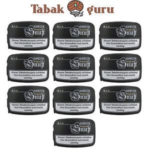 10x Gawith Original Snuff Schnupftabak á 10 g kostenloser Versand