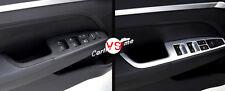 4*ABS Interior Door Cover Armrest Trim 4pcs For Hyundai Elantra Avante 2016 2017