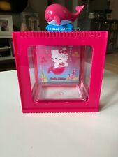 Hello Kitty 1/2 Gallon Mermaid Betta Fish Tank With Decirative Lid By Sanrio Nib