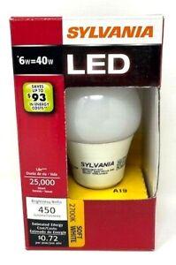 Sylvania 79149 - LED6A19/F/827/RP A Line Pear LED Light Bulb