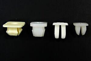 """Honda Nylon Trim Screw Nuts- Fits 1/4"""" to 11/32"""" Square Hole 100 pcs (25ea) #053"""
