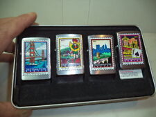 ZIPPO ACCENDINO LIGHTER FEUERZEUG DESTINATION SERIES VERY RARE NEW .