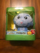 "Retired Neopets Puppyblew Interactive Talking Toy 5"" Blue Plushie"