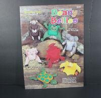 NEEDLECRAFT Beanie Bellies 1998 Plastic canvas pattern leaflet 983004