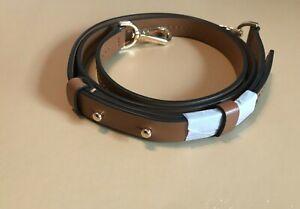 Michael Kors Leather Replacement Crossbody Shoulder Bag Strap, Acorn/Brown