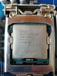 Intel Core i7-3770 Quad Core 3.4GHz up to 3.9GHz CPU LGA1155