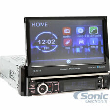 "POWER ACOUSTIK Single DIN Bluetooth DVD/CD Car Stereo w/ 7"" Screen 