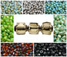 CHOOSE COLOR! 50pcs 6mm Fire Polished Faceted Cathedral Beads Czech Glass