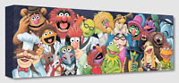 Disney Fine Art Treasures On Canvas Collection Back Stage At The Show-Muppets