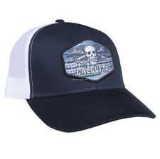 NEW Calcutta 6 panel mesh cap, Navy crown & brim white mesh, BR230547