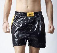 Glanz nylon shiny nylon sport short sprinter hose wet look gay Adult XXL