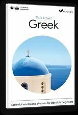 Eurotalk Talk Now Greek for Beginners - Download option and CD ROM