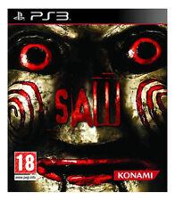 SAW (2009 sony PlayStation 3 Game based on horror film) PS3 KONAMI