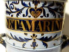 Large Gilt FINE. TAMARINDS  c1840 Apothecary Dispensary Pottery Drug Jar