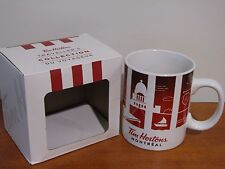 Tim Hortons Canada Montreal Travellers Collection 2016 Cities Coffee Mug NIB