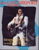 The Gavin Report August 7 1987 Memories of Elvis Presley 052517nonDBE