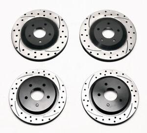Wilwood Promatrix Front / Rear Iron Rotor Kit For 97-13 Chevrolet Corvette C-5/6