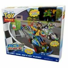 Pixar Disney TOY STORY RC's Race Gear Gas & Go Playset Sealed Great Summer Fun!