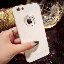 XMAS Bling Glitter Crystal Hard Back Phone Case Cover For iPhone 4s 5s 6+Plus CN