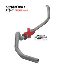 Exhaust System Kit-Performance Diesel Exhaust Turbo-Back Diamond Eye Performance