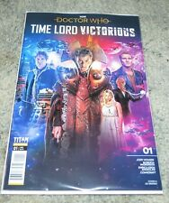 Doctor Who Timelord Victorious Issue 1 cover A