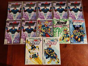 Marvel Comics Nova #1 3-7 Comic Book Lot