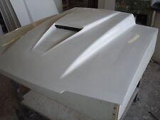 "Fiberglass 3"" or 4 inch cowl SVO Cowl Bolt-on Mustang Hood 83-93"