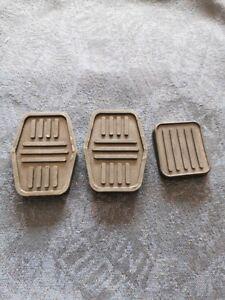 Classic Mini later model 3 piece pedal rubber set 1976-90 Rover Austin cooper BL