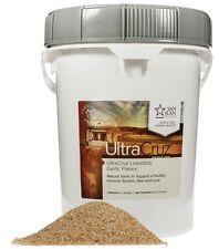 UltraCruz Horse and Livestock Garlic Flakes, 25 lb (1125 day supply)