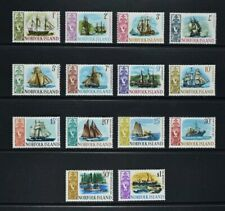 NORFOLK ISLAND, QEII, 1967 / 68, set of 14 stamps to $1 value, UM, Cat £11.