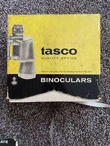 Vintage Tasco Model 304 Binoculars 7 x 35 with Black Case