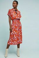 Anthropologie Clementine Floral Midi Dress By Corey Lynn Calter Size XS $218 NWT