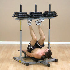 Body Solid PowerLine Gym Vertical Leg Press Machine (grey)