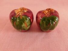 Franciscan Apple SALT & PEPPER SHAKERS have more items USA