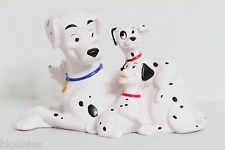 101 Dalmatians Plastic Money Bank Disney Mama & Puppies