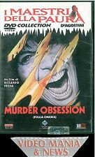 DVD MURDER OBSESSION (FOLLIA OMICIDA) .Maestri della Paura,De Agostini