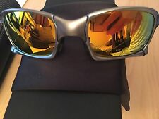 New In Box!!! Oakley X-Squared Plasma With Fire Polarized